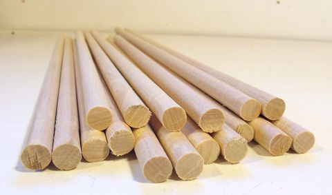 Quantity of dowels