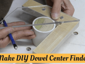 Make DIY Dowel Center Finder