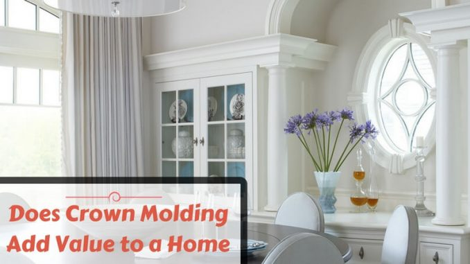Does Crown Molding Add Value to a Home