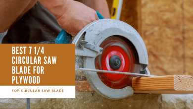 Best 7 1/4 circular saw blade for plywood