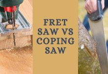 Fret Saw vs Coping Saw