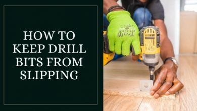 How to keep drill bits from slipping (3)