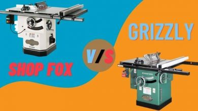 Shop Fox vs Grizzly